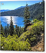 Emerald Bay Lake Tahoe California Acrylic Print