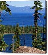 Emerald Bay -lake Tahoe Acrylic Print
