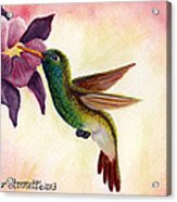 Emerald Beauty  Acrylic Print