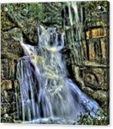 Emerald Cascade Acrylic Print by Bill Gallagher