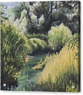 Emerald Creek Acrylic Print
