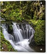 Emerald Falls Acrylic Print