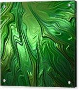 Emerald Flow Acrylic Print