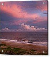 Emerald Isle Sunset Acrylic Print