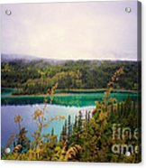 Emerald Lake Acrylic Print