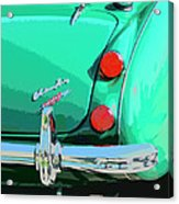 Emerald Palm Springs Acrylic Print
