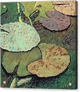 Emerald Pond Acrylic Print