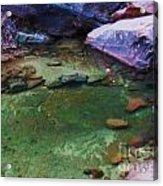 Emerald Pool 3 Acrylic Print