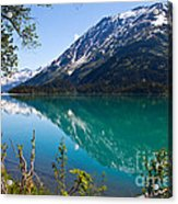 Emerald Reflections  Acrylic Print by Chris Heitstuman