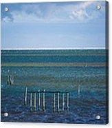 Emerald Seas Acrylic Print