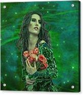 Emerald Universe Acrylic Print