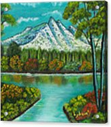 Emerald Valley Acrylic Print