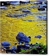 Emerald Water Acrylic Print