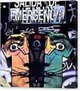 Emergency Dali Acrylic Print