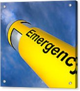 Emergency Acrylic Print