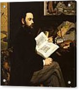Emile Zola Acrylic Print