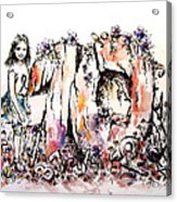 Emilee's World Acrylic Print