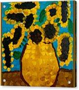Emilie Sunflowers Acrylic Print