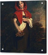 Emily Anderson Little Red Riding Hood Acrylic Print