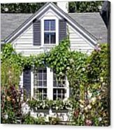 Emily Post House And Garden Acrylic Print