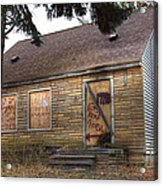Eminem's Childhood Home Taken On November 11 2013 Acrylic Print