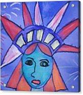 Emma's Lady Liberty Acrylic Print
