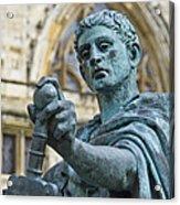 Emperor Constantine Acrylic Print