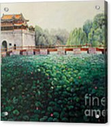 Emperor's Summer Palace Acrylic Print