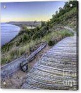 Empire Bluff In Sleeping Bear Dunes Acrylic Print by Twenty Two North Photography