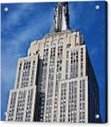 Empire State Building - Nyc Acrylic Print