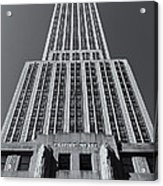 Empire State Building Rising II Acrylic Print