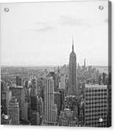 Empire State Nyc Acrylic Print