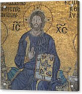Empress Zoe Mosaic - Hagia Sophia Acrylic Print