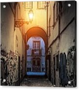 Empty Alley Acrylic Print