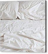 Empty Bed Acrylic Print