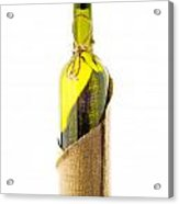 Empty Bottle With Bottle Cover Acrylic Print