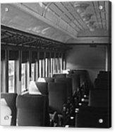 Empty Railway Coach Acrylic Print
