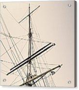 Empty Sails Acrylic Print