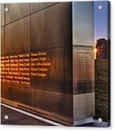 Empty Sky Nj 911 Memorial  Acrylic Print