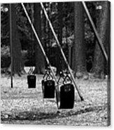 Empty Swings Acrylic Print