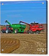 Empty The Combine Acrylic Print