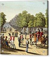 Encampment Of The British Army Acrylic Print