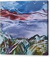 Encaustic Art 2 Acrylic Print by Debra Piro