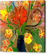 Enchanted Flowers. Acrylic Print by Pretchill Smith