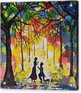 Enchanted Proposal Acrylic Print