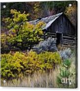 Enchanted Spaces Cabin In The Woods 2 Acrylic Print