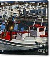 Enchanted Spaces Mykonos Greece 1 Acrylic Print