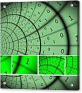 Encryption Acrylic Print