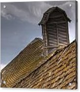 End Of An Era Roof Detail Acrylic Print