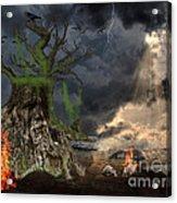 End Of Dark Night Acrylic Print